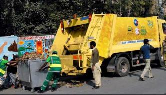 Mall Road Cleaning After Joint Opposition Convention