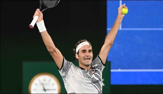 Australian Open Federer Marches To Last 8 Djokovic Out