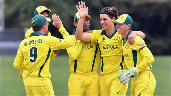 Under 19 Cricket World Cup Australia Qualifies For The Final