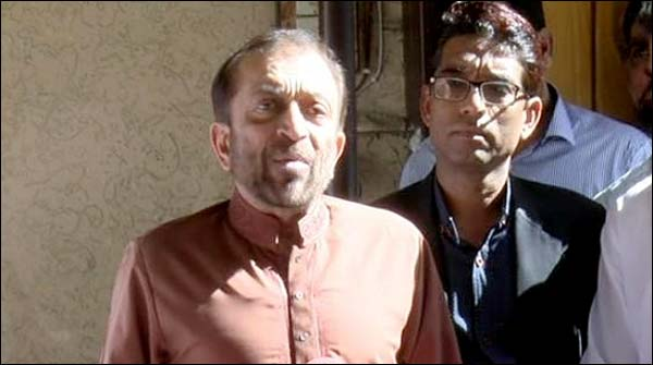 I Am The Leader Of The Party Ticket Distribute My Self Farooq Sattar