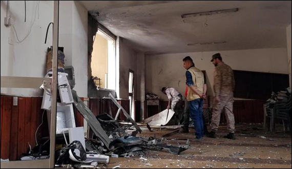 Libya Blast In Car Near Bin Ghazi Mosque One Killed