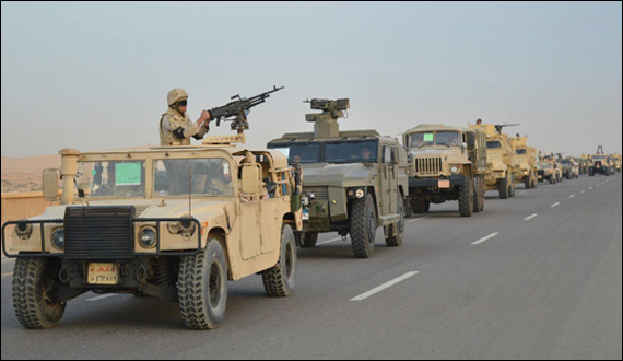 Egypt Launches Grand Military Operation Against Terrorism In Sinai