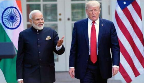 Trump Modi Contact Discuss Afghanistans Situation