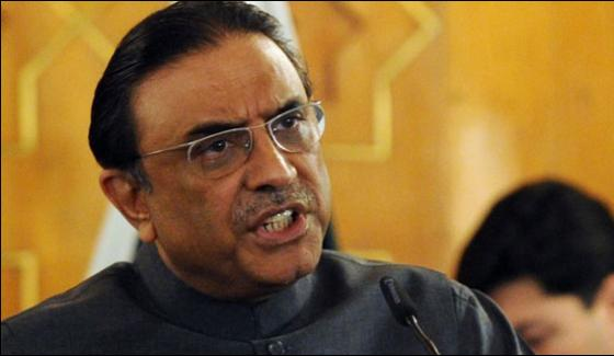 My Mission Is To Make Fata Part Of Kpk Zardari