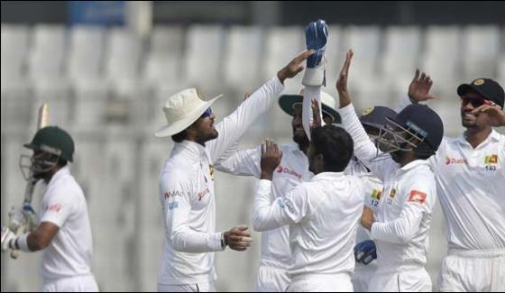 Srilanka In Command In Dhaka Test Hard For Bangladesh To Fight