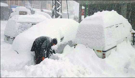 Rain And Snow Damages Upper Areas With 6 Casualties