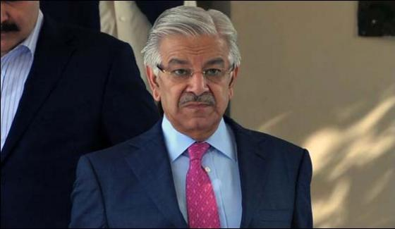 Public Picked Up The Slogan Of Honor The Vote Khawaja Asif
