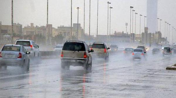 Heavy Rain In The Northern Provinces Of Saudi Arabia