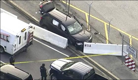 Shooting Outside Us National Security Agency Headquarters 3 People Injured