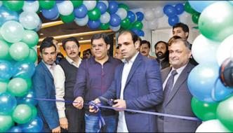 Inaugration Of Scarts Investment Bank In Bharia Town Lahore