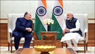 Prince Karim Agha Khan Meet Prime Minister Modi In New Dehli