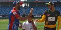 ملتان کا کراچی کے خلاف ٹاس جیت کر فیلڈنگ کا فیصلہ