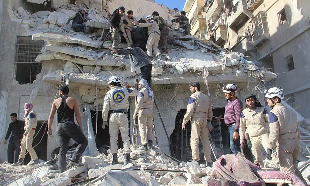 شامی حکومت کی کیمیائی ہتھیار استعمال کرنے کی تردید