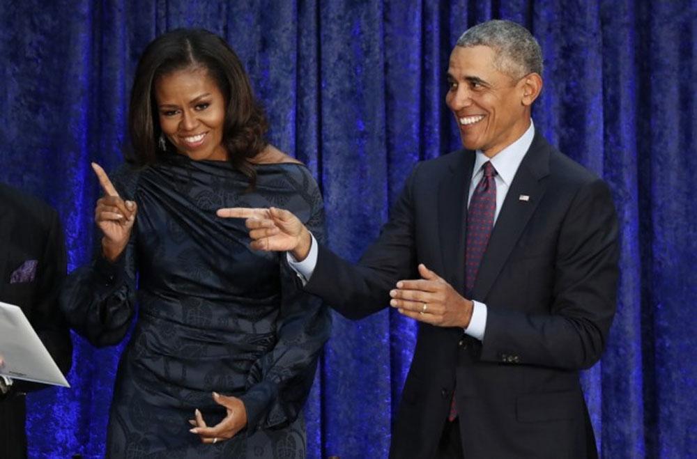 اوباما اور ان کی اہلیہ مشیل پروڈیوسرز بن گئے