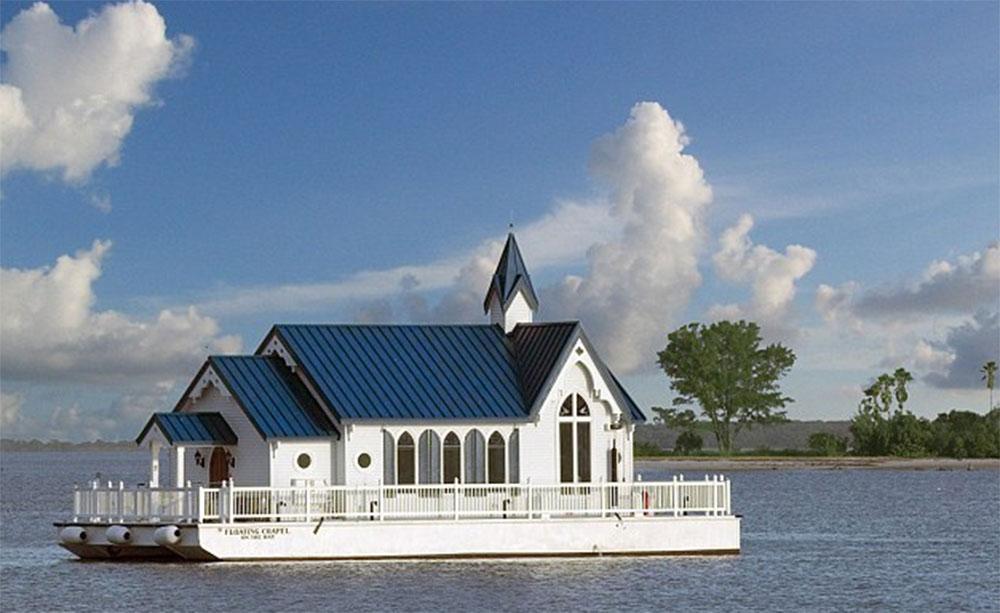 فلوریڈا کشتی میں بنا ' گھر 'نیلامی کے لیے پیش