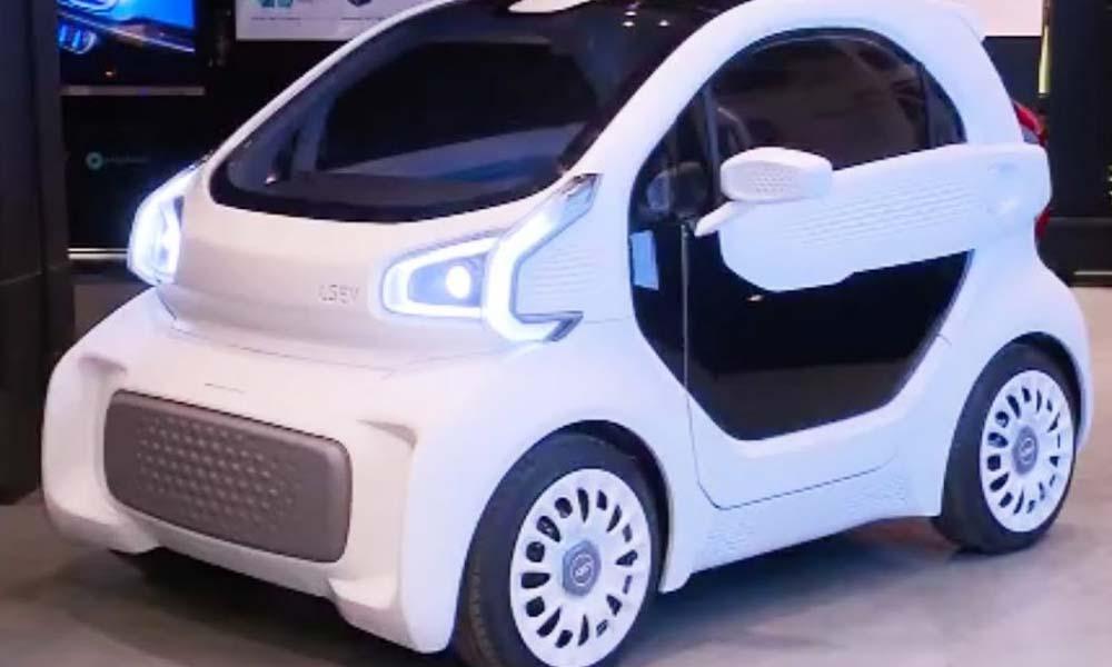 چین میں دنیا کی پہلی تھری ڈی پرنٹڈ گاڑی متعارف