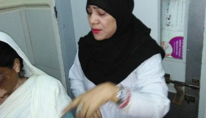 جناح اسپتال سے گرفتار جعلی لیڈی ڈاکٹرکا جوڈیشل ریمانڈ