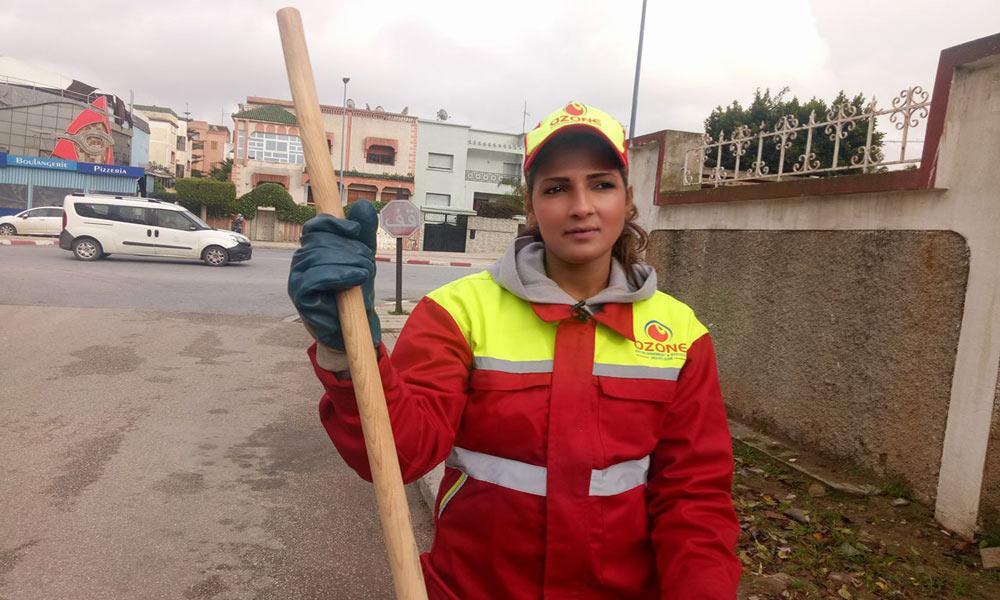مراکش کی 25 سالہ خوبصورت ترین خاکروب