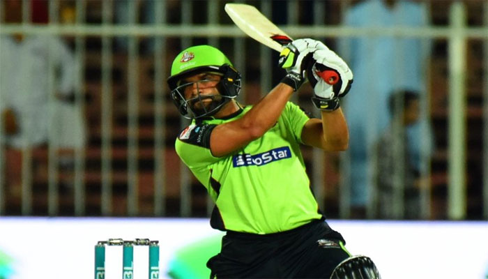 فخر زمان کے شاندار 94رنز، لاہور نے 187 کا ہدف دیدیا