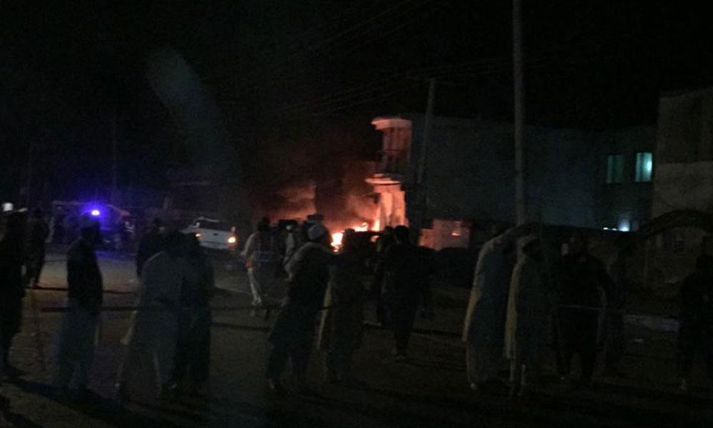 رائے ونڈ میں دھماکا، 5 پولیس اہلکاروں سمیت 9 افراد شہید