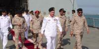 ایڈمرل ظفر محمود عباسی کی سعودی ویسٹرن فلیٹ کمانڈر سے ملاقات