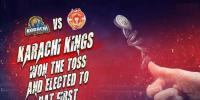 دبئی: کراچی کی اسلام آباد کیخلاف ٹاس جیت کر بیٹنگ