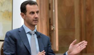 شامی صدر کا مشرقی غوطہ میں فوجی محاذوں کا دورہ