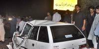 نوری آ باد پر ٹرالر اور کار میں تصادم ، 3 افراد جاں بحق