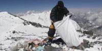نیپال :سب سے اونچے پہاڑماؤنٹ ایورسٹ پر صفائی مہم کا آغاز ہوگیا