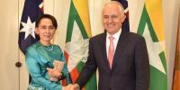 آنگ سان سوچی اور آسٹریلوی وزیراعظم میں ملاقات متوقع