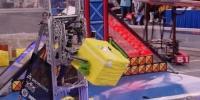 روبوٹس کے درمیان دلچسپ مقابلوں کا آغاز