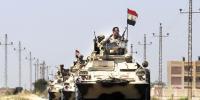 مصر:سینائی میں فوج کی کارروائی، چھتیس دہشت گرد ہلاک