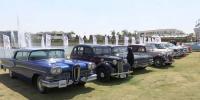 قاہرہ میں سالانہ ونٹیج کار شو کا انعقاد