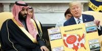 سعودی ولی عہد کی امریکی صدر سے ملاقات