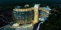 چین میں زیرزمین و آب ہوٹل کی تعمیر