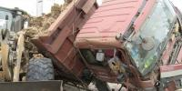 چین میں ٹرک ٹکرانے کا خطرناک حادثہ