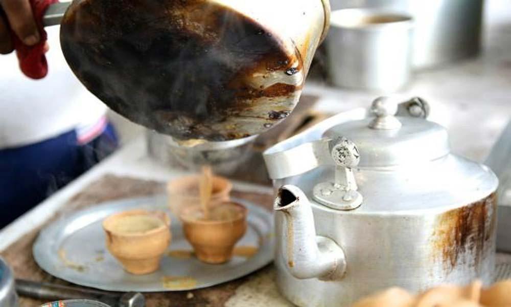 گرمی بھگانے والی ، گرم چائے کی پیالی