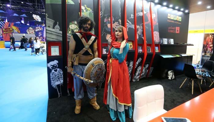 دبئی میں کامک کان فیسٹیول کامیلہ سج گیا