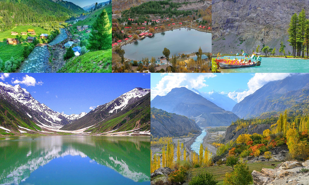 پاکستان کے چند 'جنت نظیر' مقامات