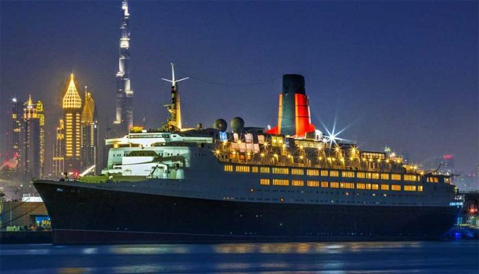 ملکہ برطانیہ کا بحری جہاز، دبئی میں ہوٹل بن گیا