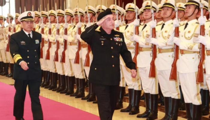 سربراہ پاک بحریہ چین میںسرکاری دورے پر