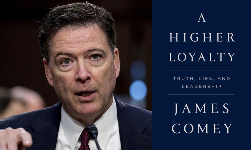 جیمز کومی کی ٹرمپ مخالف کتاب 'اے ہائیر لوئلٹی' کی اشاعت