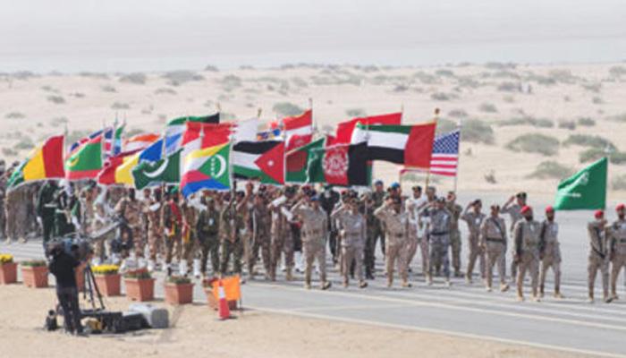 مشرق وسطیٰ میں سب سے بڑی فوجی مشقیں اختتام پذیر