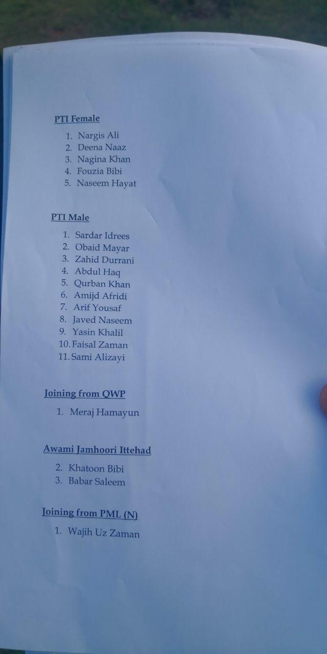 عمران خان کا 20 ایم پی ایز کو نکالنے کا اعلان