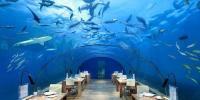 مالدیپ میں زیرِآب دلکش وِلا تیار