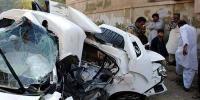 حیدر آباد، دو کاروں میں تصادم، 6 افراد ہلاک
