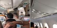بھارتی طیارے کی دوران پرواز کھڑکی ٹوٹ گئی
