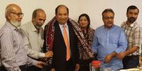 علاج کی با آسانی دستیابی ہر پاکستانی کا حق ہے،ڈاکٹر حسن ہاشمی