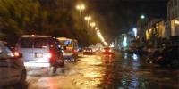 سعودی عرب کے صوبہ قصیم میں طوفانی بارش