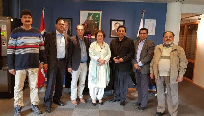 ناروے کی فلاحی تنظیم پاکستانی نو جوانوں کو تربیت دے گی